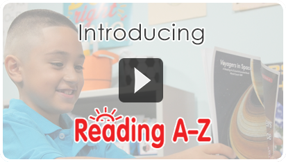 Reading A-Z Introduction Video