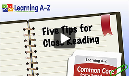Common Core Standards Reading A Z