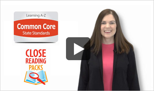 Watch the Common Core State Standards Close Reading video