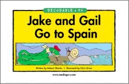 Jake and Gail Go to Spain Book Cover