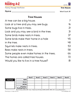 photo about 3rd Grade Reading Assessment Test Printable titled Fluency Prepare Internet pages Looking at A-Z