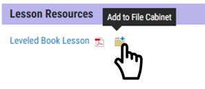 add teacher resources